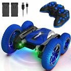 Remote Control Car for Kids, Toys for 6 7 8 9-14 Year Old Boys, Double Blue