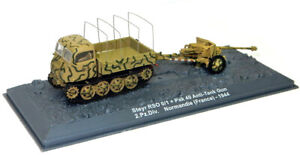 altaya/ixo 1/72 Steyr RSO/01 + Pak 40 Anti-Tank Gun Raupenschlepper Ost Tractor