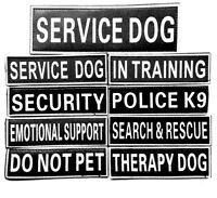 Extra Patch Label Tag for Reflective Dog Harness Service Therapy Emotional