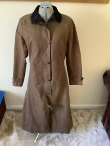BARBOUR long Riding Coat Size 8-10 ,unused