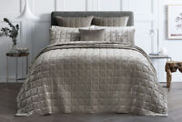 SHERIDAN Canfield Bed Cover Super King|King | Queen Bed size in Twine