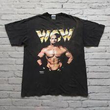 Vintage 1998 WCW Goldberg Wrestling Tshirt XL 90s Distressed Single Stitch