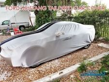 Satin Stretch Indoor Tailored Car Cover for Ford Mustang from Coverking