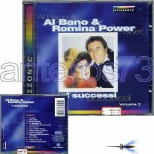 "AL BANO & ROMINA POWER ""I SUCCESSI vol.2"" RARO CD 1998"
