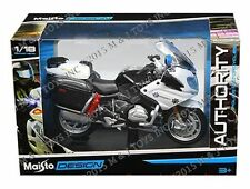 MAISTO 1:18 AUTHORITY POLICE MOTORCYCLES BMW R 1200 RT CALIFORNIA HIGHWAY PATROL