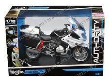 MAISTO 1:18 AUTHORITY POLICE MOTORCYCLES BMW R 1200 RT CALIFORNIA HIGHWAY PATROL