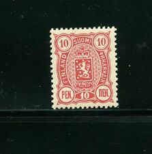 Finland #40 (FI133) Coat of Arms 10p carmine of 1890, MNH, VF, CV$70.00