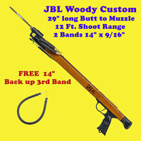 "JBL Woody Custom Speargun Spear Gun 29"" Fish Scuba Free Skin Dive Snorkel Shoot"