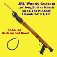 """JBL Woody Custom Speargun Spear Gun 29"""" Fish Scuba Free Skin Dive Snorkel Shoot"""