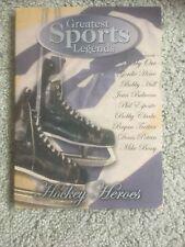 Greatest Sports Legends Hockey Heros DVD - Ice Hockey 9 Part Series