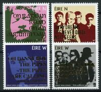 Ireland 2019 MNH Great Irish Songs U2 Cranberries Danny Boy 4v Set Music Stamps
