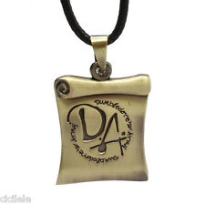 Charm Men's Retro Infinity Stainless Steel Harry Potter Pendant Chain Necklace