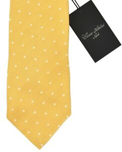 NEW CESARE ATTOLINI TIE 100% SILK  3 FOLD CAN417