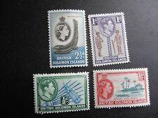 British Solomon Islands 4 MH,OG