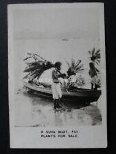 No.27R FIJI A SUVA BOAT PLANT SALE RP Peeps Into Many Lands - Cavanders Ltd 1928