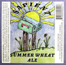 Dark Horse SAPIENT SUMMER WHEAT ALE  beer label MI 12oz