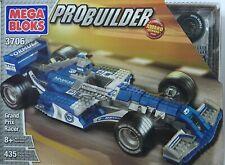 Rare Mega Bloks PRO-BUILDER - Grand Prix Racer, 435 PCS, 3706, 8+ Brand New