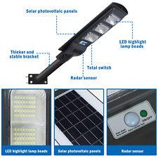 Outdoor 900000LM IP67 Solar Street Lights LED Dusk-to-Dawn Area Road Spotlight