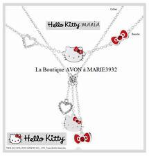 NEW Magnifique BRACELET COEUR HELLO KITTY AVON NEUF