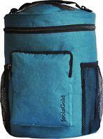 foolsGold Pro Dual Slot Knitting Bag Storage for Wool & Yarn Crochet Needles Tub