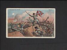 1887 N99 Civil War Battle Scenes Duke Tobacco Heroish of Col. Rogers