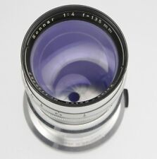 Contax RF Carl Zeiss 135mm f4 Opton Sonnar T* #1130757