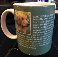 Golden Retriever Mug/Cup dog lover gift coffee tea cocoa Dog Information