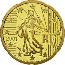 20  cents euro France 2001 Belle épreuve