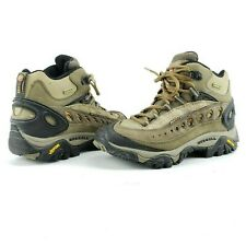Merrell Pulse II Vibram Waterproof Women 6 Hiking Shoe Boot Sneaker Loden Taupe