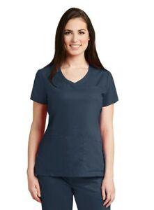 Grey's Anatomy Scrubs Women's 4 Pockets Stylized Princess V-Neck Top