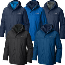 "New Mens Columbia ""Bugaboo"" 3in1 Interchange Omni-Heat Winter Jacket Coat Parka"