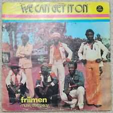 "Friimen Musik Company ""We Can Get It On"" Afro Psych Funk Disco LP Anodisc"