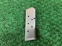 Colt 1911 Officer's Model .45 ACP Factory 7 Round Magazine with BSTS Floorplate