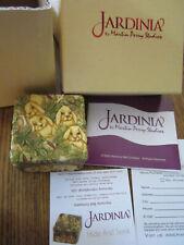 "Martin Perry Studios - Jardinia - ""Hide & Seek"" Bunny / Rabbit Box Nib"