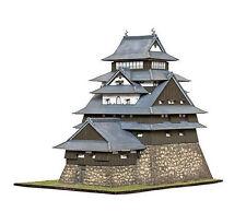 MATSUE Japan castle, paper model kit 1:100 scale
