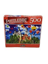 "Puzzlebug 500 Piece Jigsaw Puzzle ""NEUSCHWANSTEIN CASTLE"" 18.25""x11"" Family Fun"