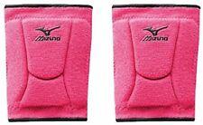 1 Pr Mizuno LR6 Highlighter Hot Pink / Black Adult Large Volleyball Knee Pads