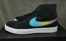 Nike SB Zoom Blazer Mid QS Lance Mountain Black Multi Color AH6158-090 Size 11