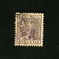 Switzerland Stamps # B7 VF Used Scott Value $57.50