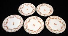 5 Elite (Bawo & Dotter) Limoges 6 in dessert plate  late l800 France