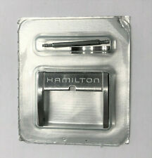 Original Hamilton 18mm Stainless Steel Watch Clasp Buckle with Pin