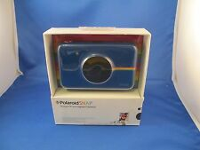POLAROID SNAP INSTANT PRINT DIGITAL CAMERA -- BLUE -- NEW -- MINT CONDITION