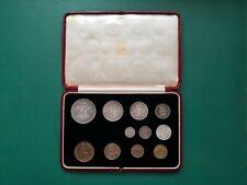 More details for royal mint british 1937 george vi, specimen set  original, no maundy.