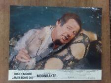 MOONRAKER JAMES BOND 007 lewis GILBERT  roger MOORE 1979   3 photos *