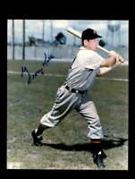 George Kell Hand Signed 8x10 Photo Autographed Detroit Tigers