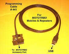 Programming Cable #441 Motorola MOTOTRBO XPR4300 XPR 4350 XPR4500 PMKN4010B USB