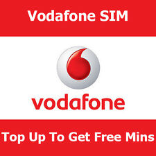 New Vodafone Pay As You Go SIM Card For Apple iPhones Top Up To Get Free Mins