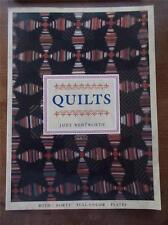 HUGE FOLIO QUILTS 40 Full Page Color Plates Art & Design Textiles Embroidery VGC