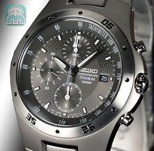 SEIKO Sport Multifunzione Cronografo Cinturino Titanio SND419P1 SND419