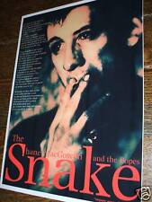 Shane Macgowan (The Pogues)  'The Snake' Poster